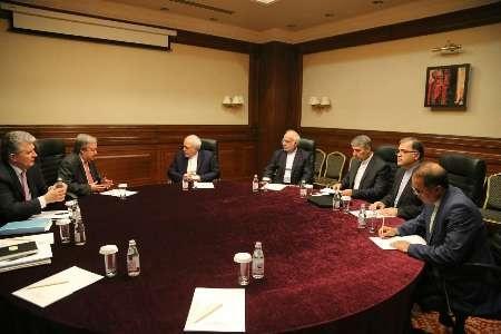 دیدار ظریف با دبیرکل سازمان ملل در آستانه