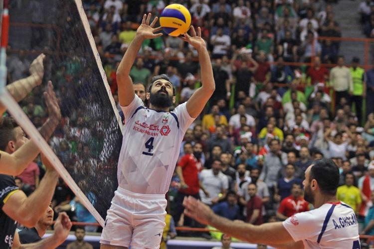 لیگ جهانی والیبال   پیروزی ایران در دیدار نفسگیر با بلژیک
