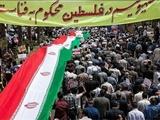 طنین شعار «مرگ بر اسرائیل» در مرکز تهران | شعارنویسی مردم روی موشکهای سپاه