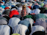 عکس روز: نماز عید فطر در بخارست