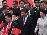 """سفر """"تاریخی""""  جینپینگ به هنگکنگ"""