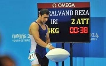 مدال طلای دسته ۱۰۵ کیلوگرم جهان بر سینه رضا بیرالوند درخشید
