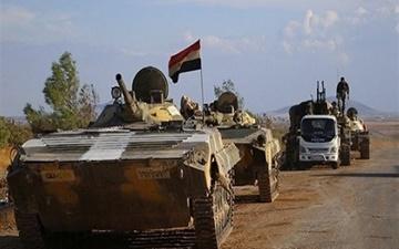 عقبنشینی تروریستها در شهر «البعث» سوریه