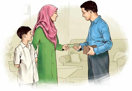 مقدار مالى که شوهر باید در مراحل مختلف طلاق به همسرش بپردازد، چه مقدار است؟