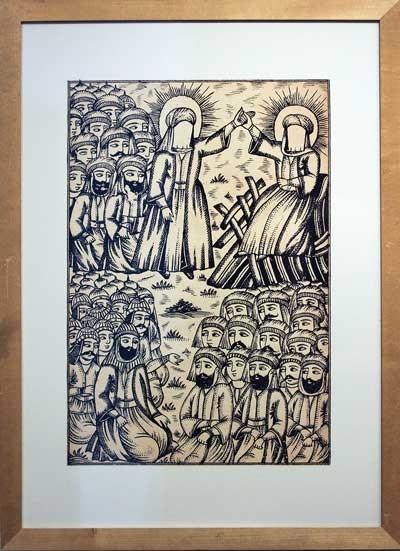 «روز غدیر»/ میرزا نصرالله، افتخارنامهی حیدری (۱۳۱۰هجری قمری)