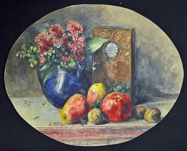 نقاشیهای هیتلر را ارزان خریدند