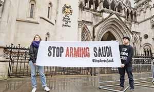 سوی دادگاه عالی لندن، دولت انگلیس فروش سلاح به عربستان
