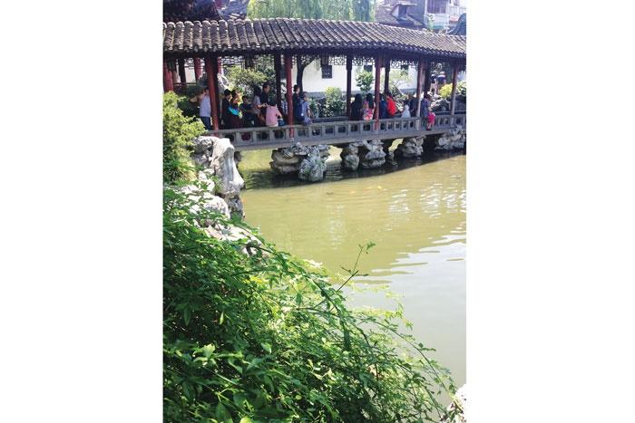 سفر به باغ یویوآن در شانگهای