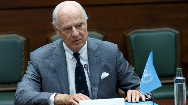 دیمیستورا: مواضع مخالفان سوری به هم نزدیک شده است