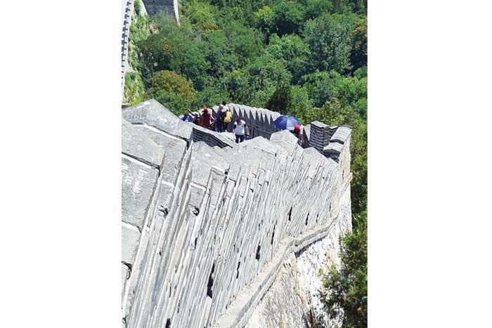 پیچو تاب دیوار چین چهقدر تماشایی است!