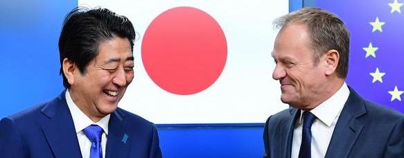واکنش تاریخی ژاپن و اتحادیه اروپا علیه ترامپ