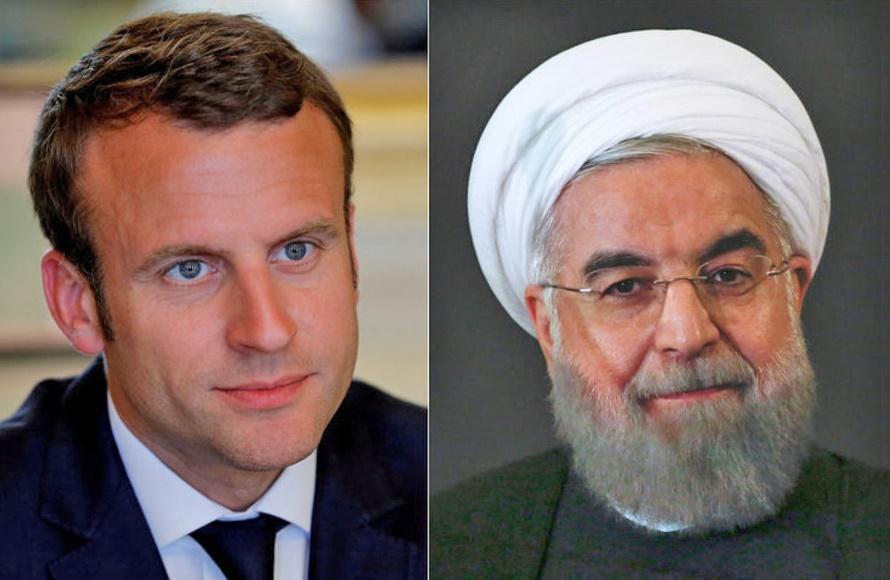 روحانی روز ملی فرانسه را به مکرون تبریک گفت