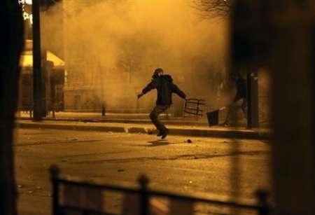 حمله به ساختمان وزارت فرهنگ یونان