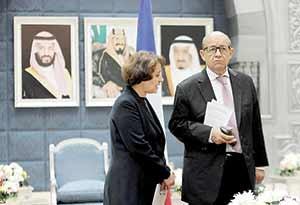 صف وزرای خارجه برای حل دعوای عربی