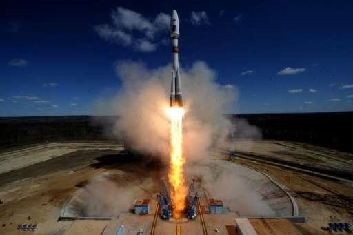 رکوردشکنی روسیه در پرتاب ماهواره به فضا