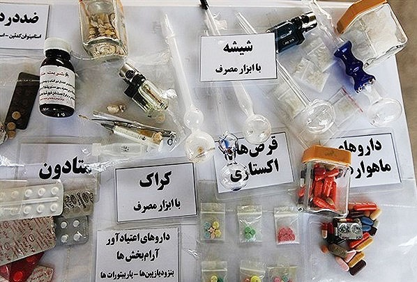 کاهش مصرف مواد محرک در کشور