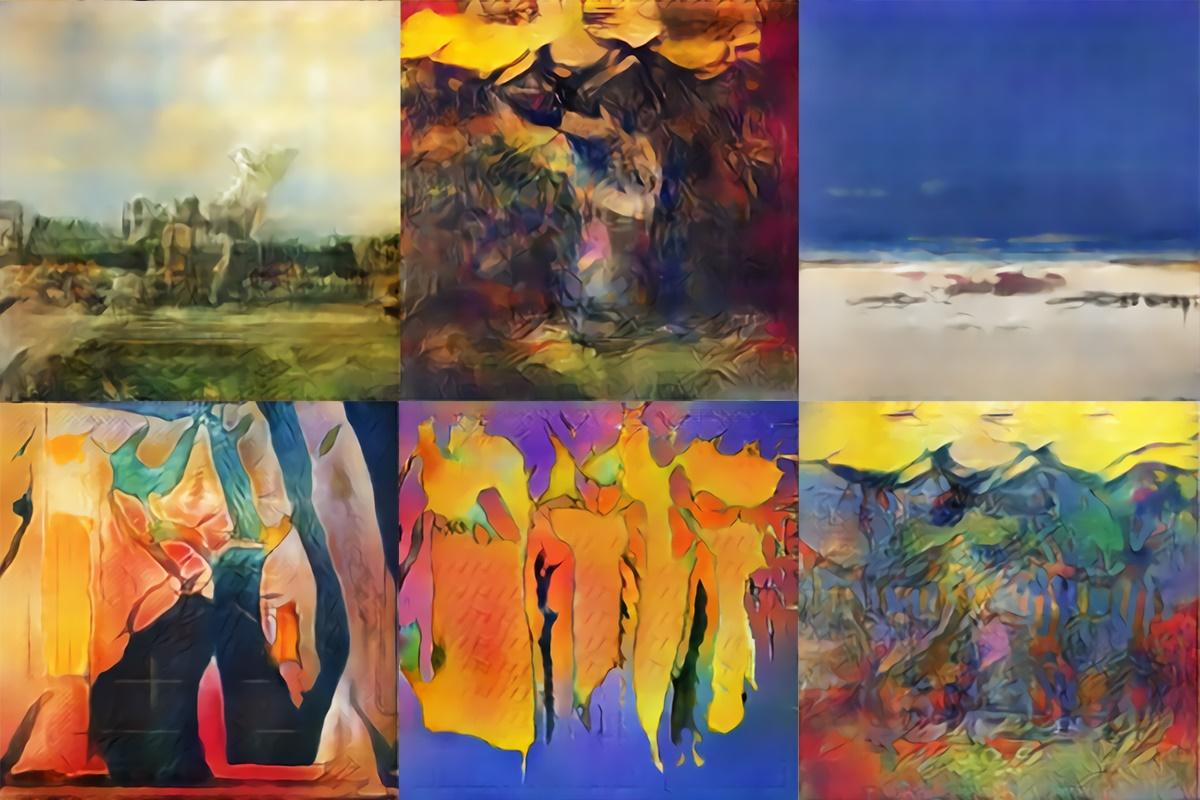 خلق سبک جدیدی از هنر توسط نقاشان هوش مصنوعی