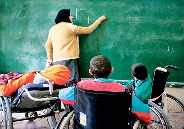 آموزش معلولان
