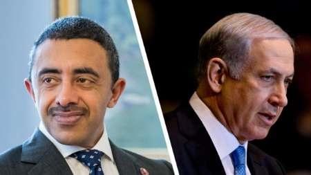 هاآرتص فاش کرد   دیدار مخفیانه وزیر خارجه امارات با نتانیاهو در مورد ایران