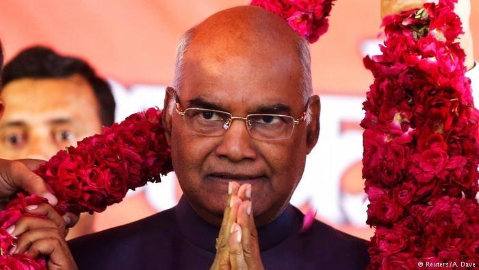 انتخاب یک دالیت به ریاست جمهوری هند