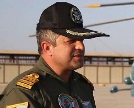 فرمانده جدید هوادریای نیروی دریایی ارتش معرفی شد