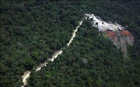تیغ اکتشاف معدنی بر قامت جنگلهای مازندران