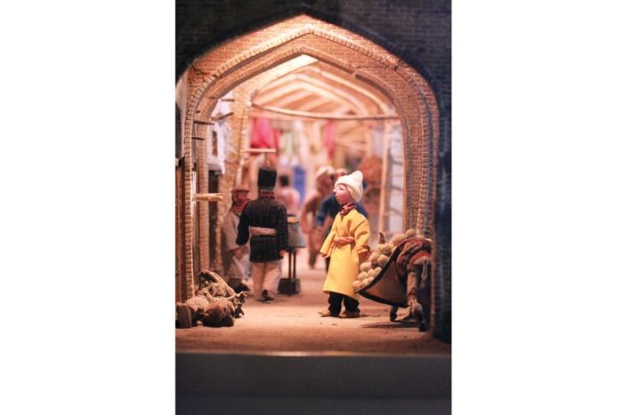 یک موزهی رازآلود در خیابان حجاب
