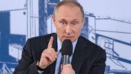 پوتین سیاست تحریمی آمریکا را گستاخی بی حد و پایان خواند
