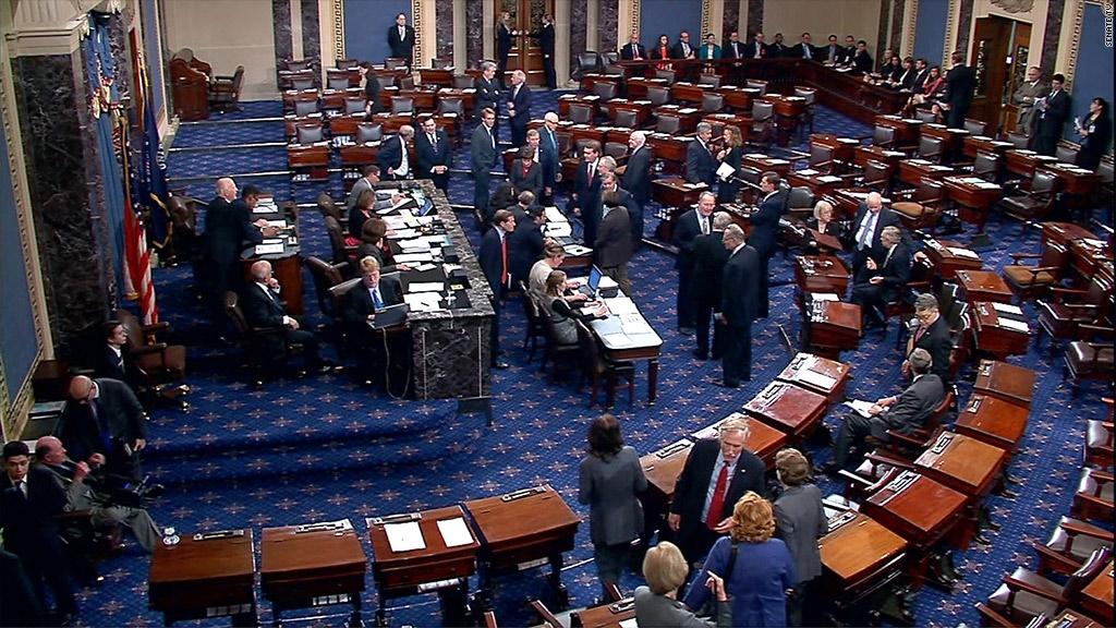 سنای آمریکا لایحه تحریم ها علیه ایران،روسیه و کره شمالی را تصویب کرد