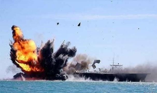 کشتی جنگی امارات در سواحل یمن هدف قرار گرفت