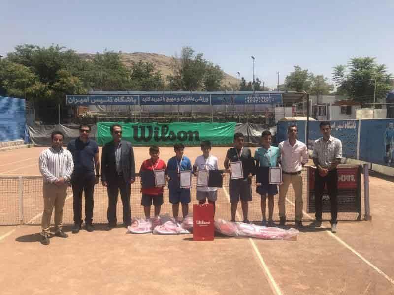 رقابتهای تنیس ردههای سنی پسران با معرفی نفرات برتر پایان یافت