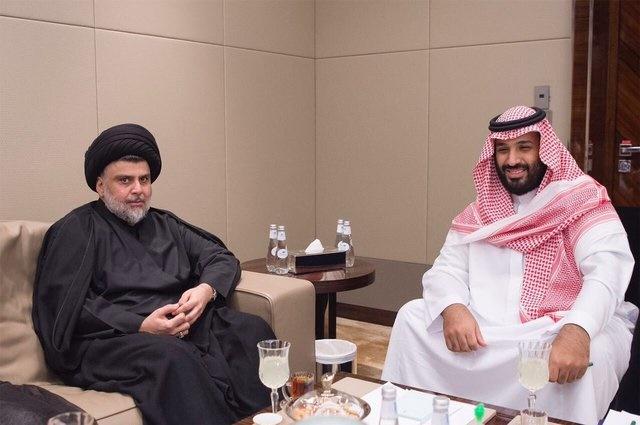 دیدار  ولیعهد عربستان با مقتدی صدر در جده