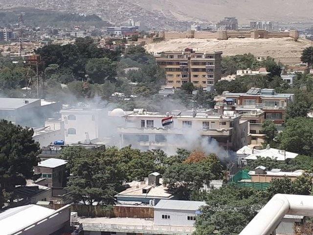 داعش مسئولیت حمله در نزدیکی سفارت عراق در کابل را برعهده گرفت