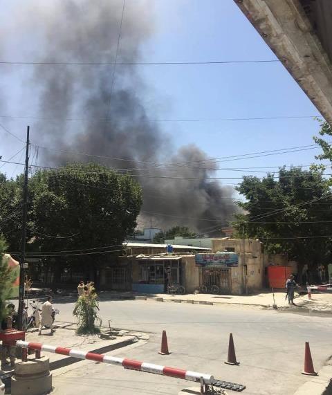 پایان درگیری در سفارت عراق در کابل