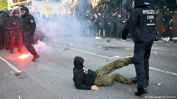 آغاز اجلاس گروه ۲۰ همزمان با اعتراض مخالفان در هامبورگ