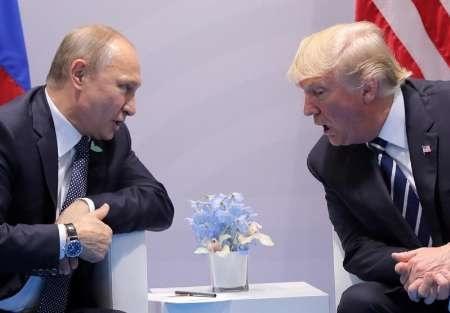 دیدار پوتین و ترامپ در هامبورگ همراه با سکوت کامل در برابر خبرنگاران