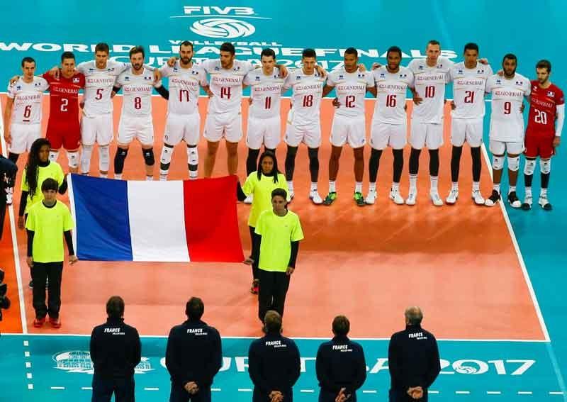 فرانسه قهرمان لیگ جهانی والیبال شد