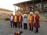 رقص خنجر ترکمنها برای نجات فک خزری