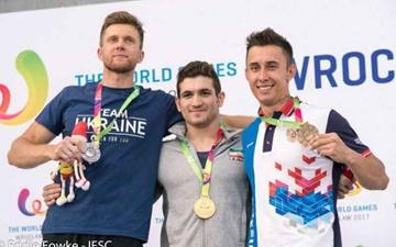 قهرمانی علیپور در مسابقات سنگنوردی  World Games