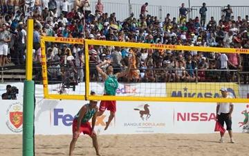 تیم ملی والیبال ساحلی به نخستین مدال خود در تور جهانی دست یافت