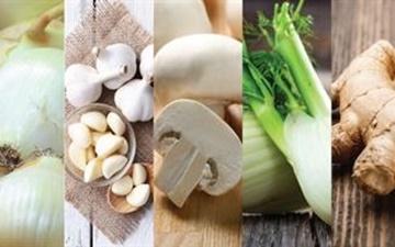 ۵ سبزی سفید رنگ را بیشتر از همیشه مصرف کنید