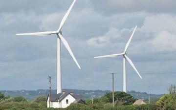 اسکاتلند رکورد تولید برق بادی در جهان را شکست