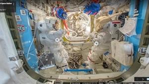 گوگل به ایستگاه فضایی رفت
