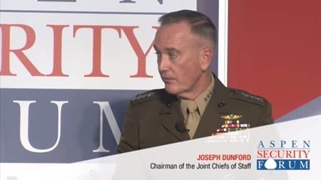 رئیس ستاد مشترک ارتش آمریکا چالش های امنیتی واشنگتن را بر شمرد