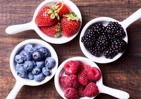 فیبر,نعنا,غذا,رژیم,جعفری,هندوانه,آناناس,نخود سبز,تغذیه,تمشک,موز,فلفل دلمهای,انبه,توت فرنگی