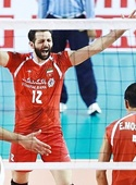 پیروزی والیبال امید مقابل چین تایپه