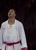 گنج زاده به مدال نقره کاراته بازیهای جهانی دست یافت