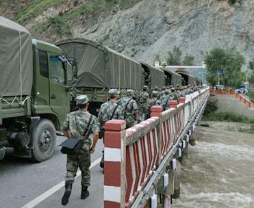 میزان تلفات زلزله چین به ۲۰ نفر رسید