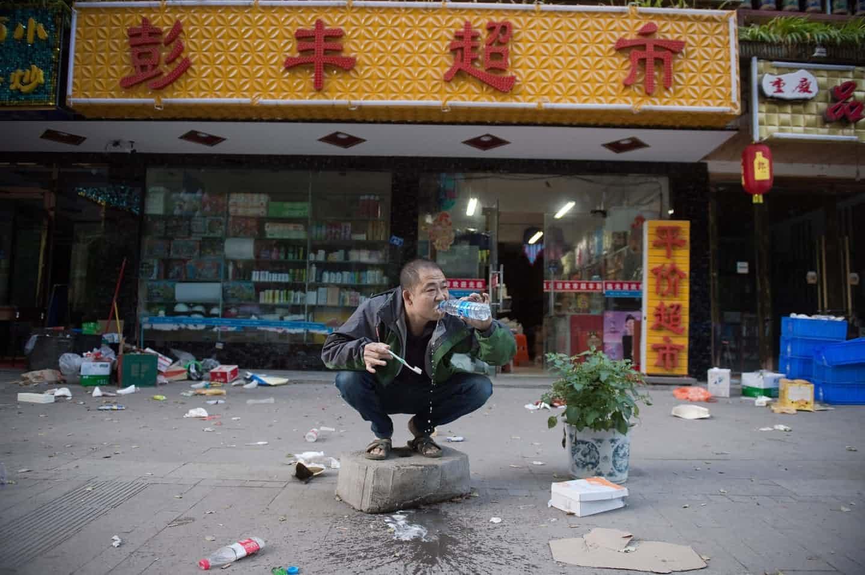 عکس روز: پس از زمینلرزه