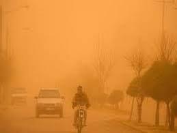 شدت غلظت ذرات معلق هوای منطقه سیستان